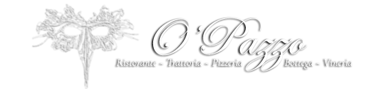 Restaurant O'Pazzo Rotterdam Logo